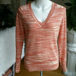 Anthropology Moth linen blend sweater size Small